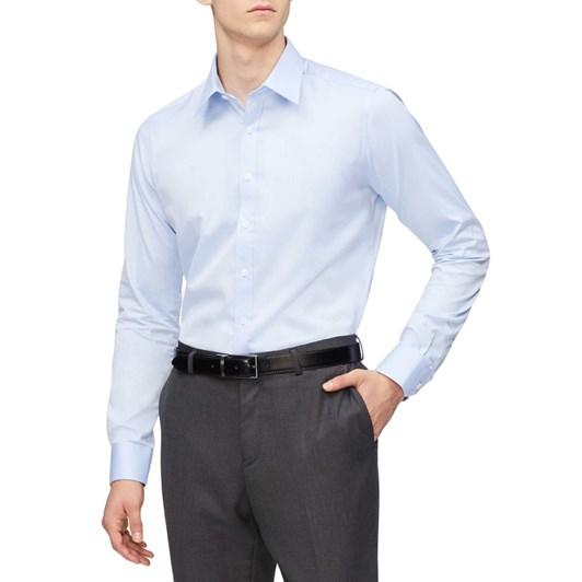 Geoffrey Beene Slim Fine Twill Shirt Slim Fit
