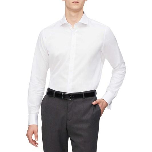 Geoffrey Beene Madison Semi Solid Shirt Slim Fit