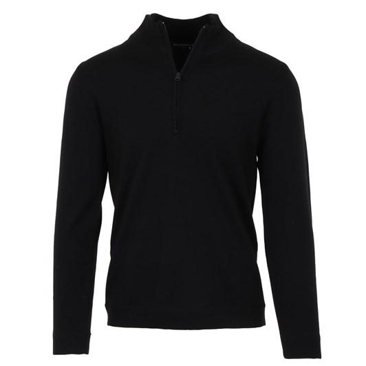 Silverdale  Fine 1/4 Zip - Tailored Fit, 100% Merino Wool