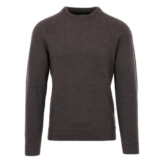 Silverdale  Saddle Shoulder Crew Neck - Tailored Fit, 100% Merino Wool
