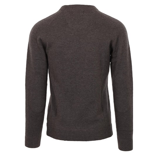Silverdale  Saddle Shoulder Crew Neck - Tailored Fit, 100% Merino Wool