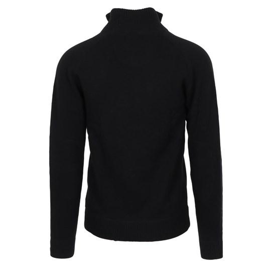 Silverdale  Saddle Shoulder 1/4 Zip - Tailored Fit, 100% Merino Wool