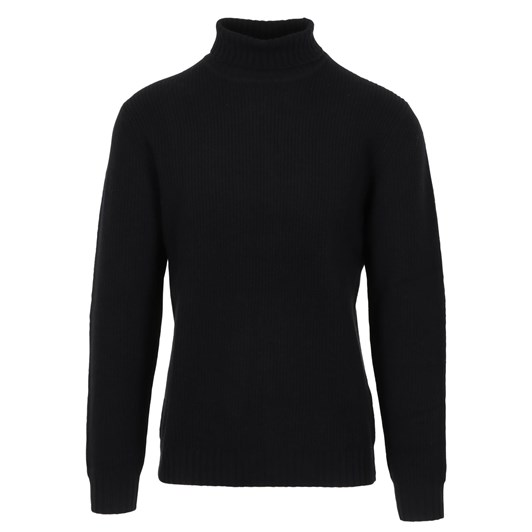 Silverdale  Ribber Roll Neck - Tailored Fit, 100% Merino Wool