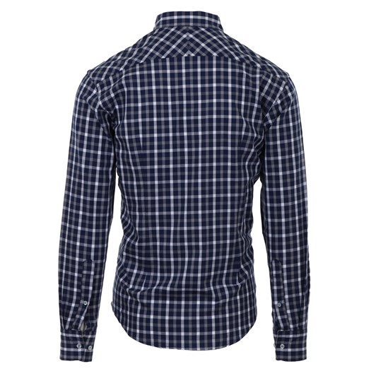 Rembrandt Ohope Navy Check Shirt