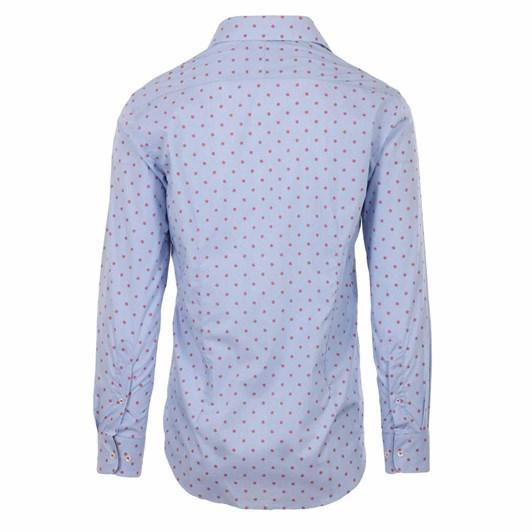 Rembrandt Barbican Blue Geometric Shirt