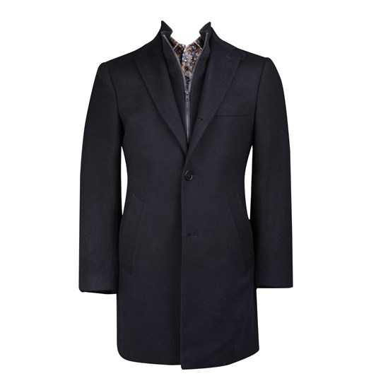 Rembrandt Compton Black Overcoat