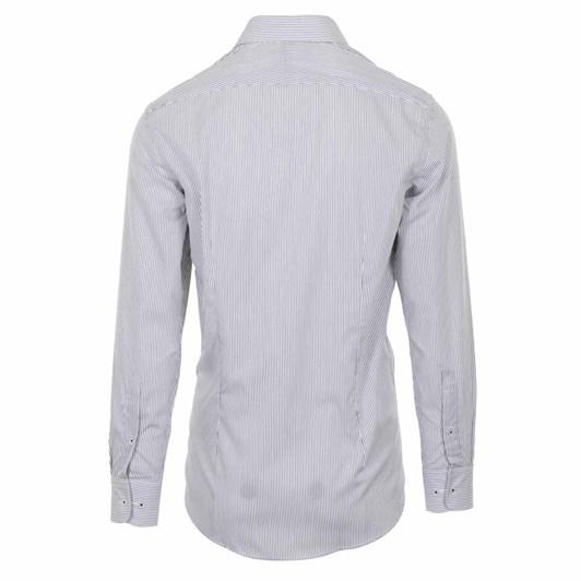 Rembrandt London Black & White Stripe Shirt