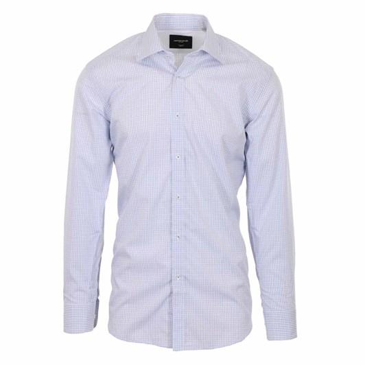 Rembrandt London Light Blue Check Shirt