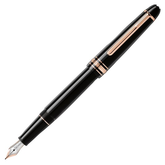 Montblanc Meisterstück Rose Gold-Coated Classique Fountain Pen
