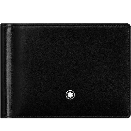 Montblanc Meisterstück Wallet 6CC Money Clip Black