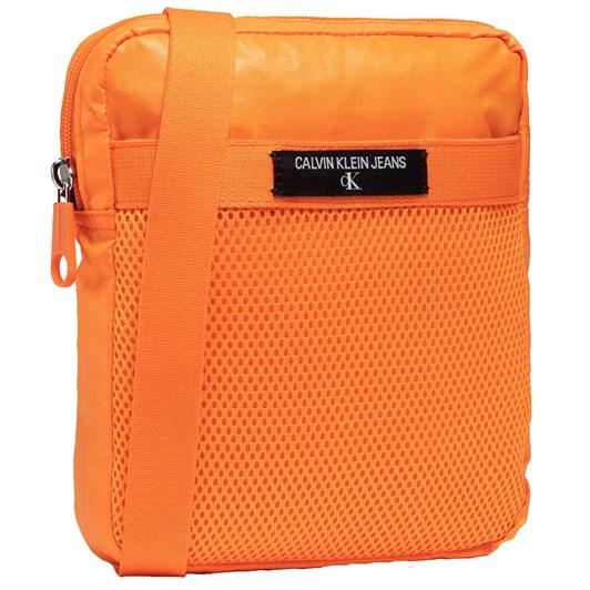 Calvin Klein Mini Reporter Bag Vivid Orange