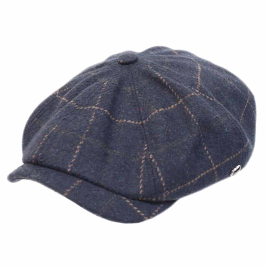 Hills Hats Paperboy Coral Fire