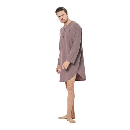 Coast Long Sleeve Stripe Knit Nightshirt