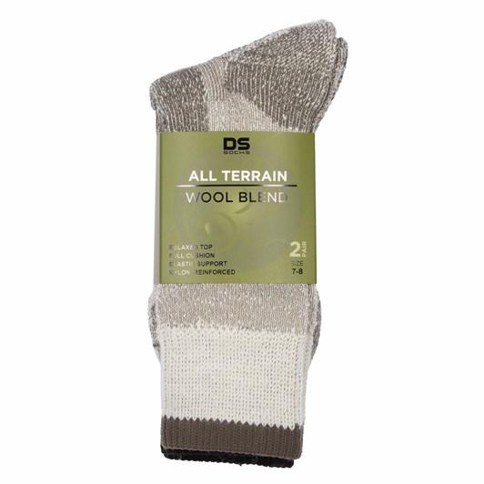 DS Socks All Terrian Outdoor Work Sock 2 Pair
