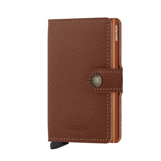 Dmi Secrid Mini Wallet Saffiano Caramel