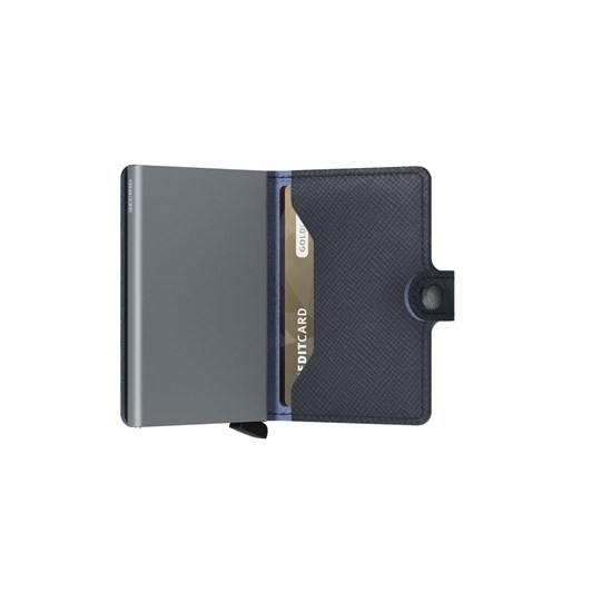 Dmi Secrid Mini Wallet Saffiano Navy