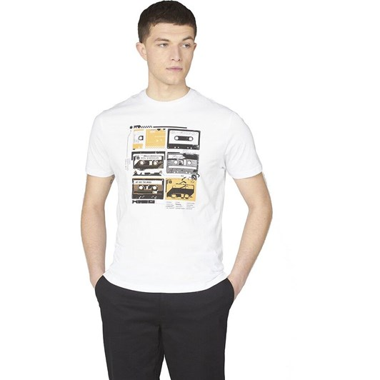 Ben Sherman The Lost Tapes Tee White