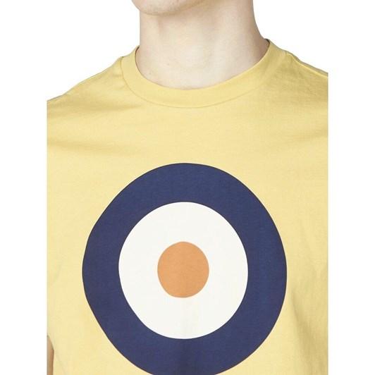 Ben Sherman Target Tee Pale Yellow