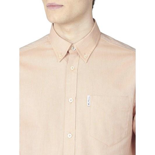 Ben Sherman LS Signature Gots Oxford Shirt Anise