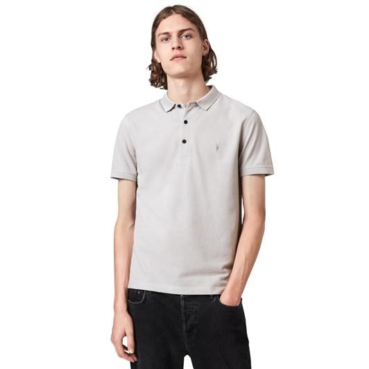 AllSaints Reform Short Sleeve Polo
