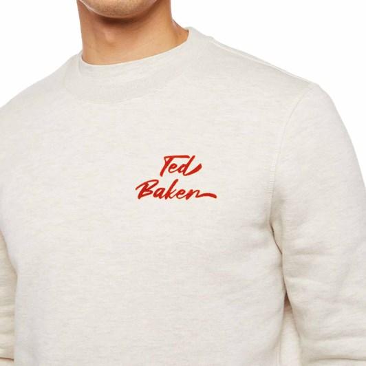 Ted Baker Trophey Ls Branded Sweatshirt