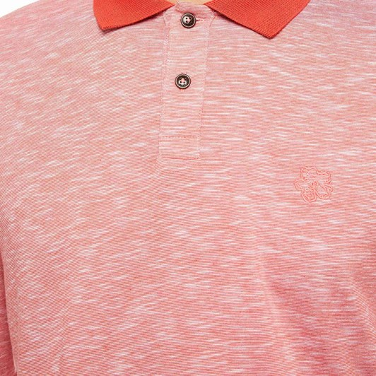 Ted Baker Wiskay Ls Space Dyed Polo