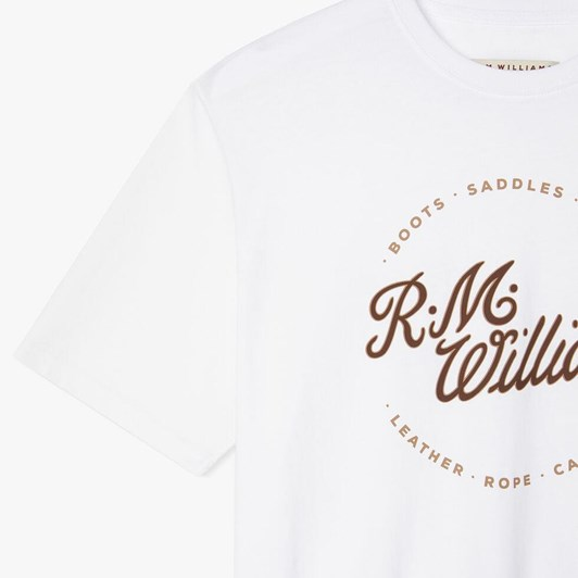 R.M. Williams Script Stamp T-Shirt