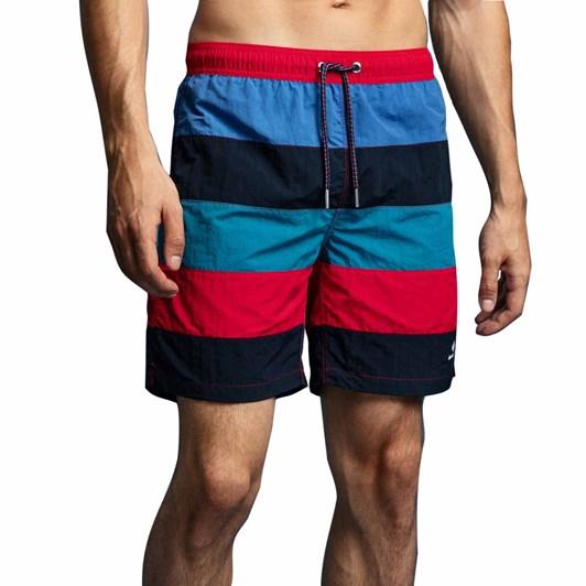 Gant Lc Block Stripe Swim Shorts