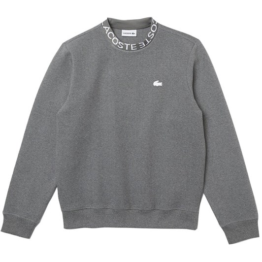 Lacoste Double Face Collar Detail Sweat
