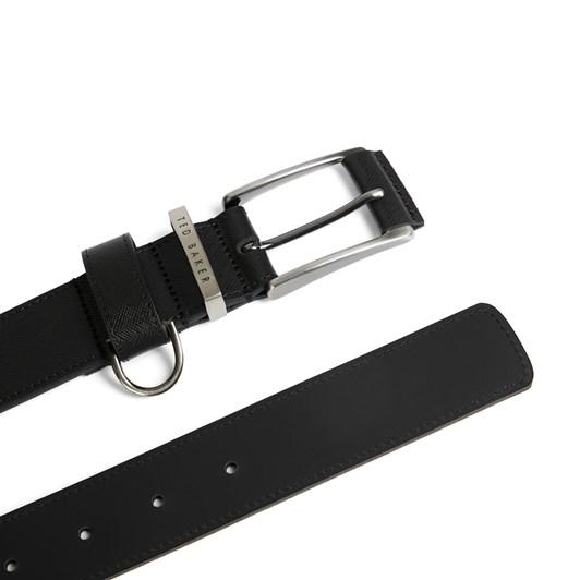 Ted Baker Saffiano Leather Belt