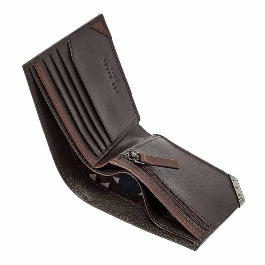 Ted Baker Corner Detail Leather Bifold