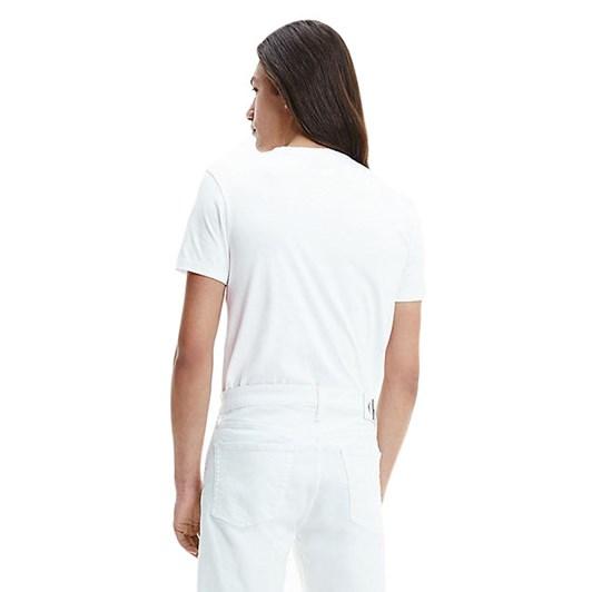 Calvin Klein Jeans Seasonal Monogram T-Shirt White