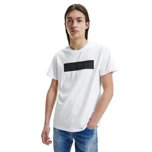 Calvin Klein Jeans Blocking Logo Tee White