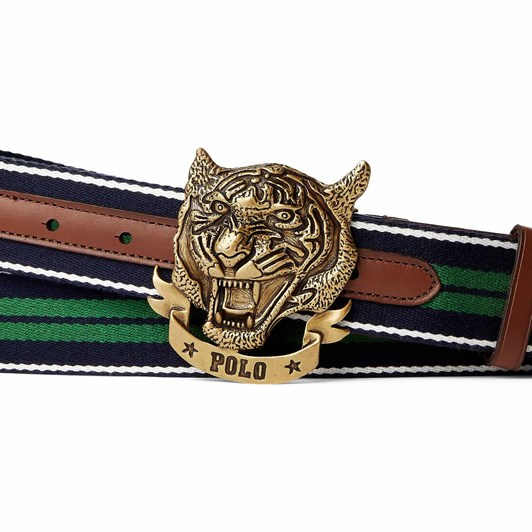 Polo Ralph Lauren Tiger Web Bt-Casual-Cotton