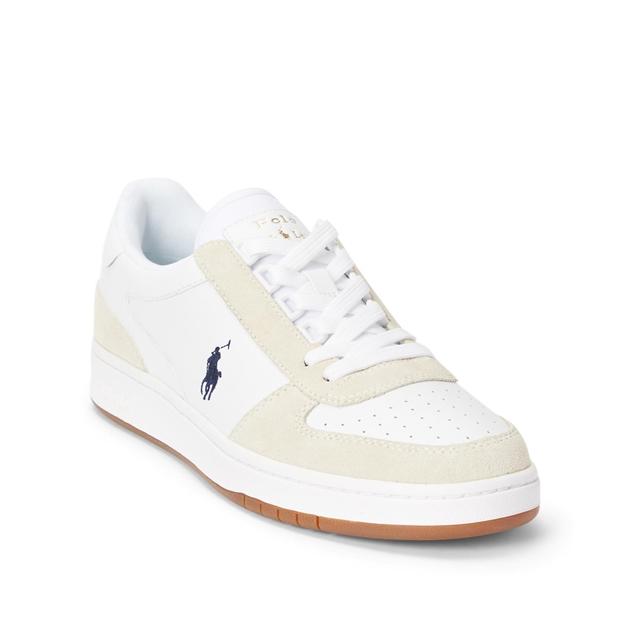 Polo Ralph Lauren Polo Crt Pp-Sneakers-Athletic Shoe - wht newport navy