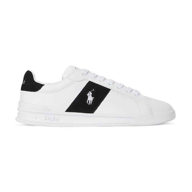 Polo Ralph Lauren Hrt Ct Ii-Sneakers-High Top Lace - whiteblack