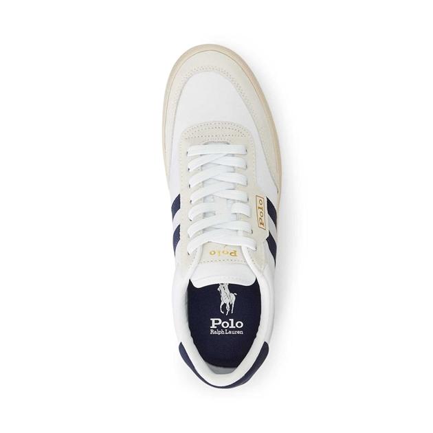 Polo Ralph Lauren Court Vlc-Sneakers-Low Top Lace - wht newport navy