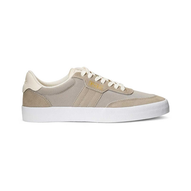 Polo Ralph Lauren Court Vlc-Sneakers-Low Top Lace - dove grey