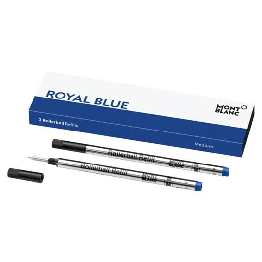 Montblanc - 2 x Rollerball Pen Refills (M) Royal Blue