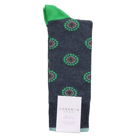 Lorenzo Dotted Circles Socks