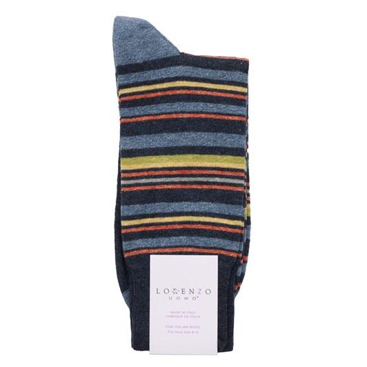 Lorenzo Jaspe Simple Stripes Socks