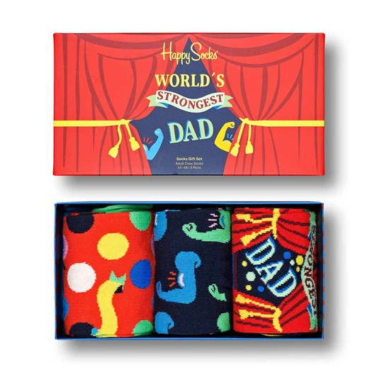 Happy Socks  Gift Set Fathers Day 3-Pack