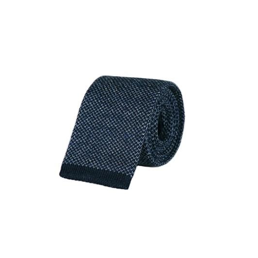 Monti Castello Knitted Tie - Denim Blue