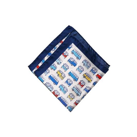 Monti Castello 100% Silk Pocket Square - Combi Campers