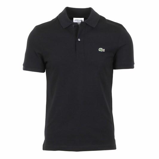 Lacoste Slim Fit Polo Black