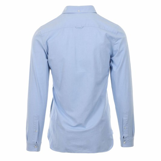 Lacoste Ls Slim Stretch Oxford Shirt Hemisphere