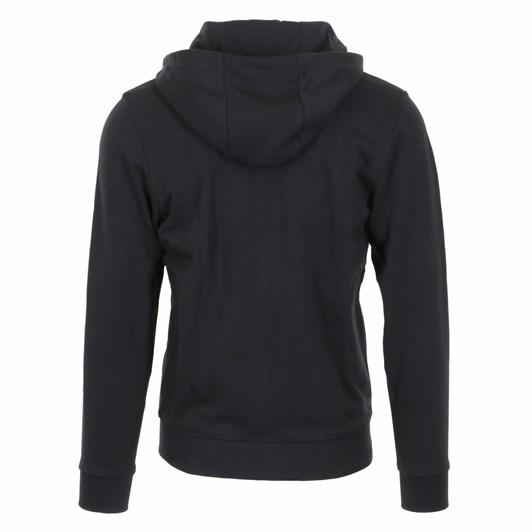 Lacoste Essentials Zip Front Hoodie Black