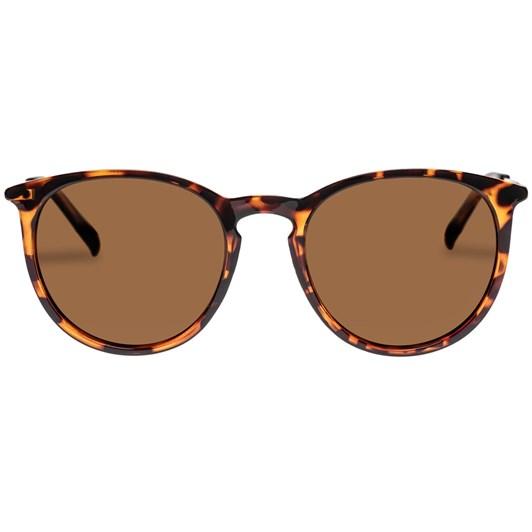 Le Specs Oh Buoy Sunglasses | Tort Gold Polarized Matte Black