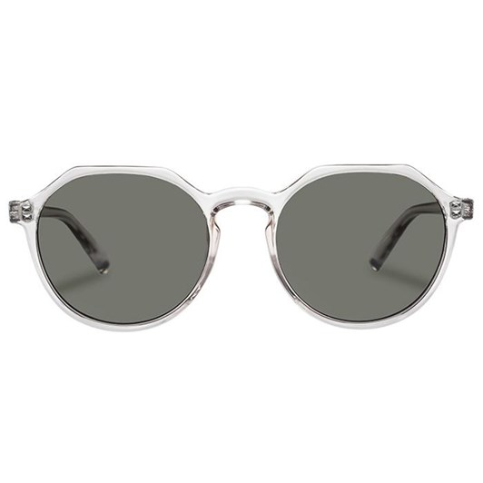 Le Specs Speed Of Night Sunglasses | Clear Shadow