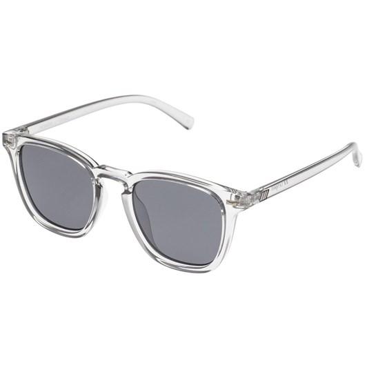 Le Specs No Biggie Sunglasses | Pewter-Smoke Mono